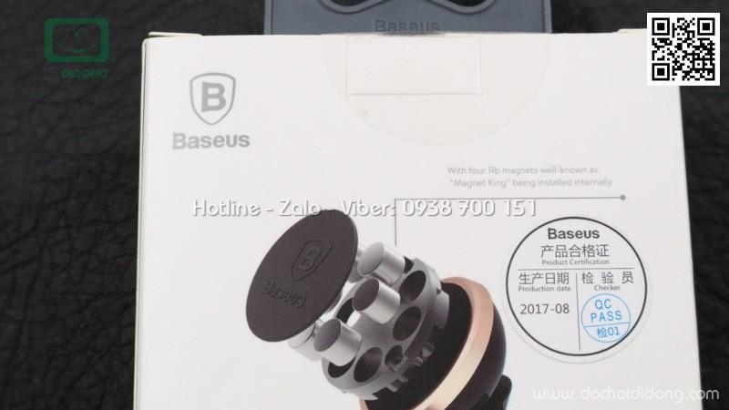 Đế hít điện thoại Baseus nam châm chân dán chữ nhật dùng trên xe hơi