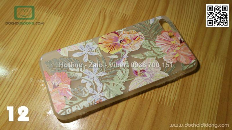 Ốp lưng iPhone 8 Plus dẻo hình nổi siêu đẹp