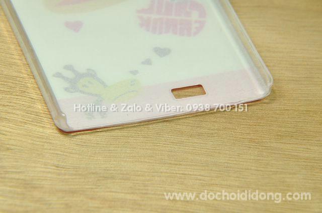 Ốp lưng Gionee S5.5 cứng hình vẽ