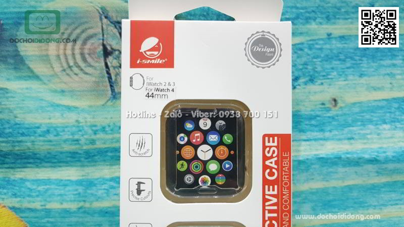 Ốp silicon iSmile dành cho Apple Watch 44mm