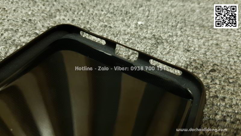 Ốp lưng Xiaomi Redmi Note 6 Pro dẻo carbon