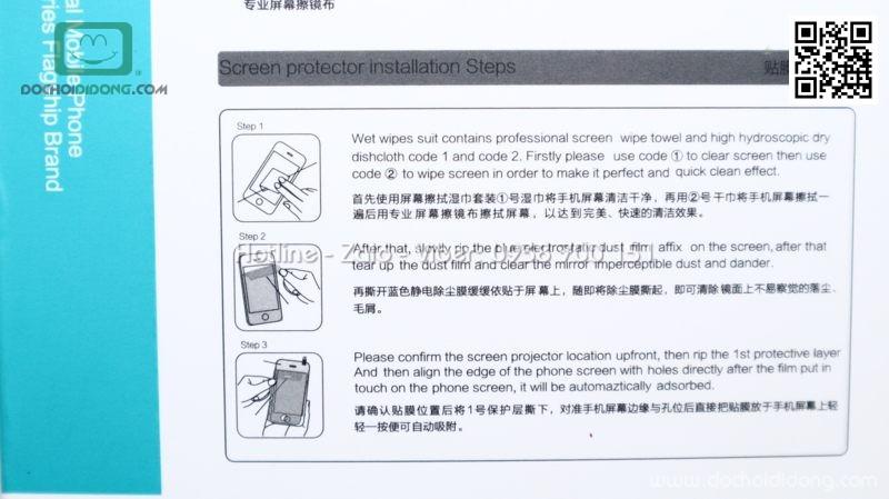 Miếng dán cường lực mặt lưng iPhone 8 Nillkin Amazing H