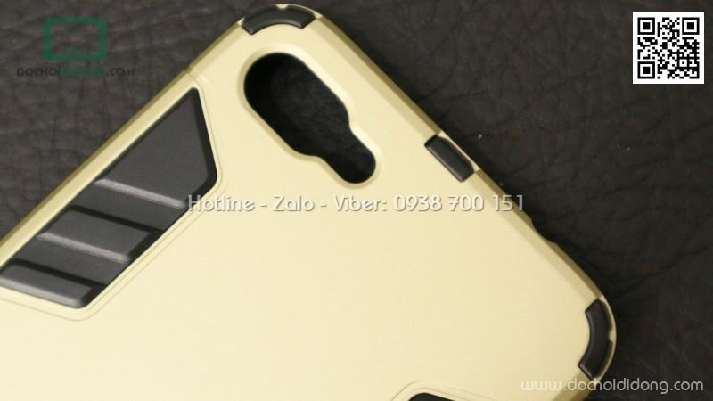 Ốp lưng Asus Zenfone 4 Max ZC554KL Iron Man chống sốc có chống lưng