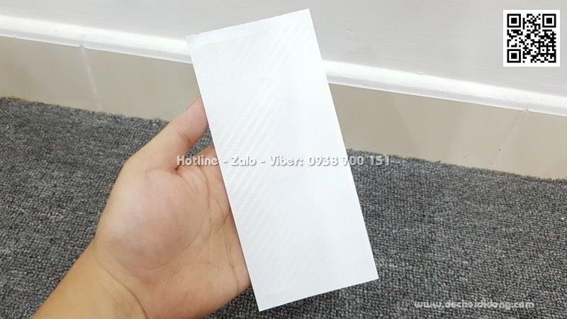 Miếng dán mặt lưng Huawei Honor 8X vân carbon
