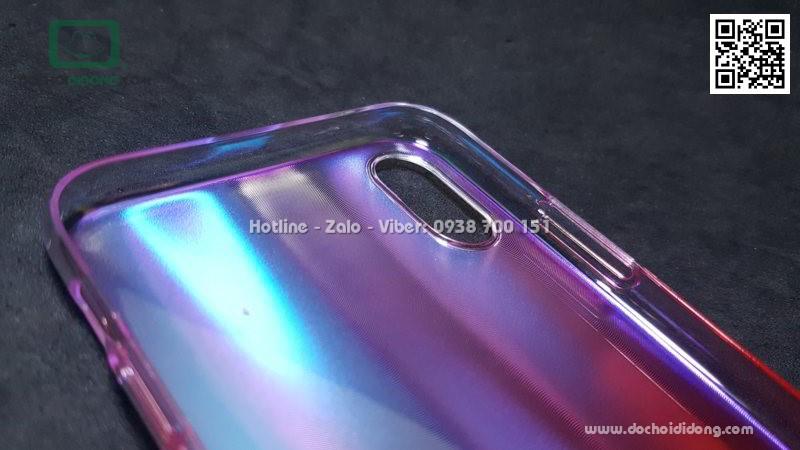 Ốp lưng iPhone X Baseus Aurora lưng nhám đổi màu