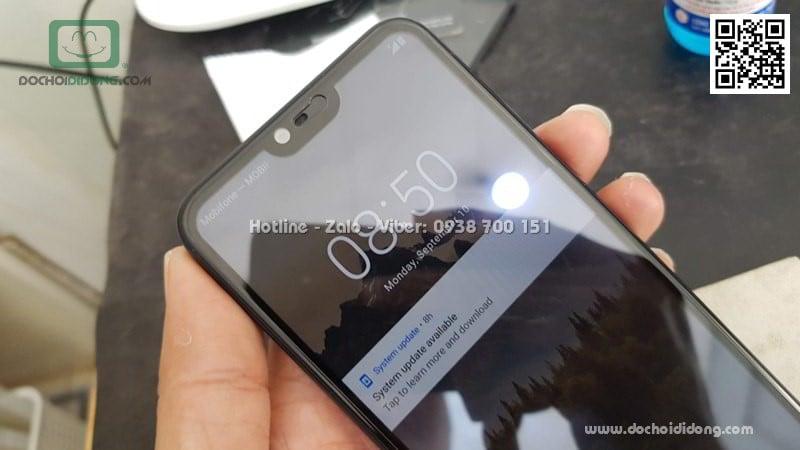 Miếng dán cường lực Nokia 6.1 Plus full màn hình Zacase full keo