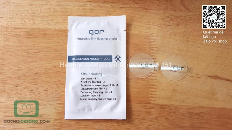 Miếng dán cường lực đồng hồ LG G Watch R Gor 9H