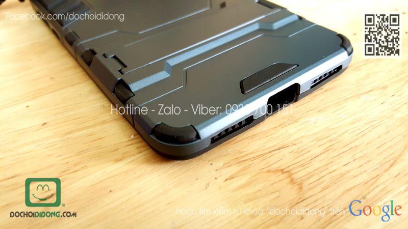 Ốp lưng Xiaomi Redmi Note 4 Iron Man chống sốc có chống lưng