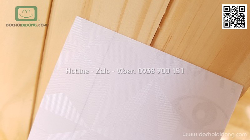 Miếng dán mặt lưng Oppo F5 in khối 3D