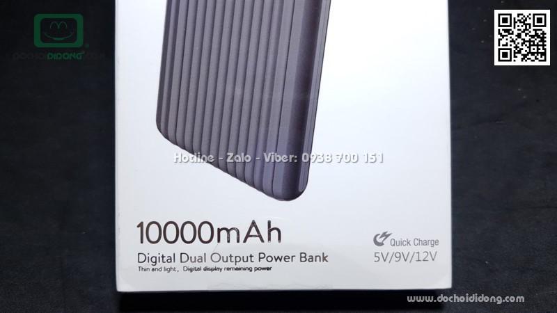 Sạc dự phòng Baseus Think Digital 10000mah Quick Charge 3.0