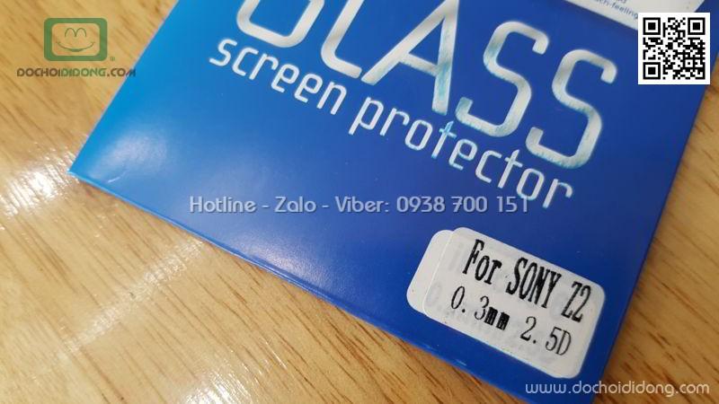 Miếng dán cường lực Sony Z2 9H