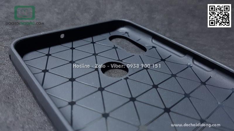 Ốp lưng Xiaomi Mi 8 Likgus chống sốc vân kim loại