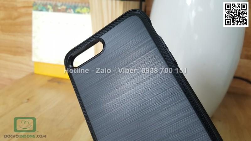 Ốp lưng iPhone 8 Plus Ringke vân kim loại