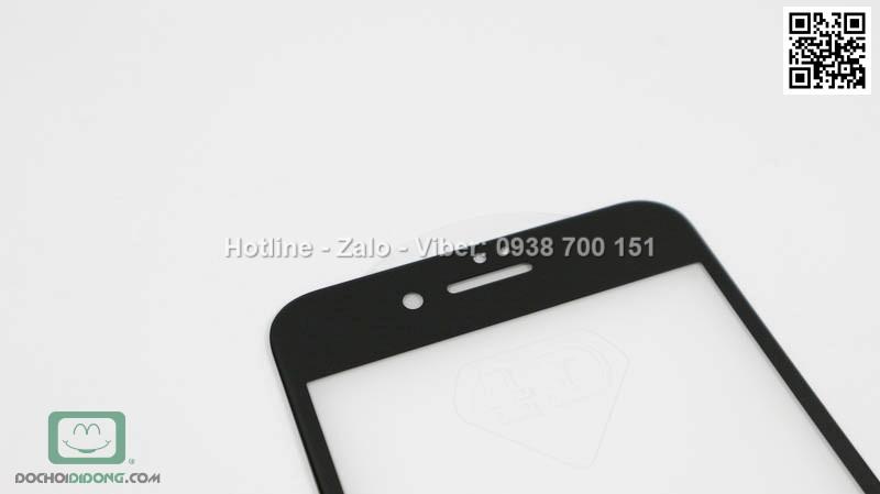 Miếng dán cường lực iPhone 8 Plus 4D full màn hình 9H