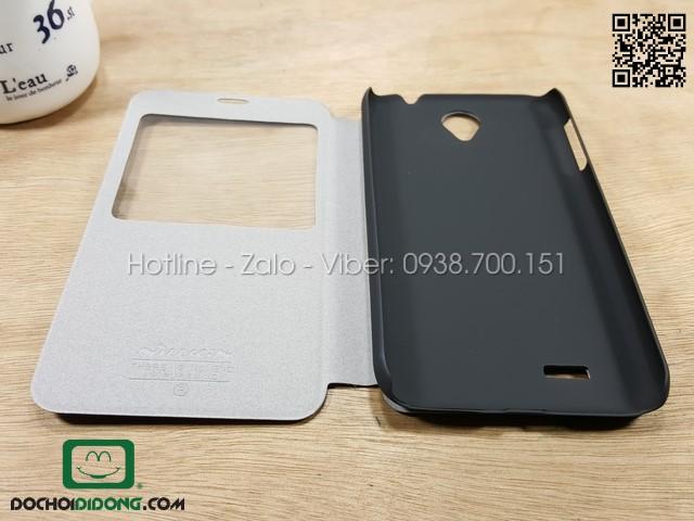 Bao da Lenovo A850 NK vân sần cửa sổ