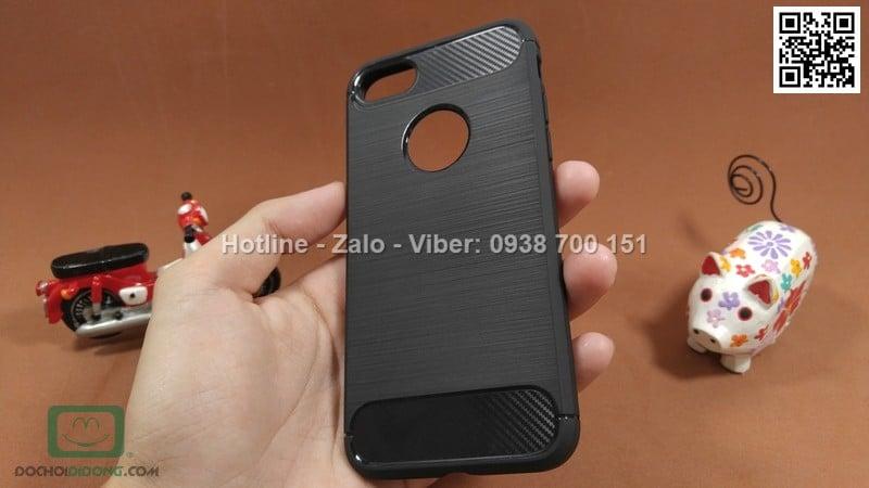 Ốp lưng iPhone 8 Likgus chống sốc vân kim loại