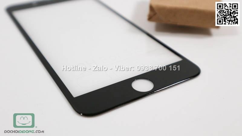 Miếng dán cường lực iPhone 7 Plus 4D full màn hình 9H