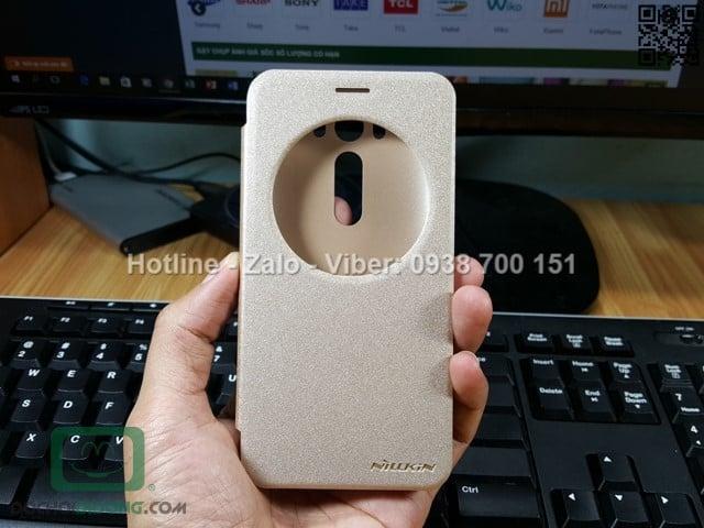 Bao da Asus ZenFone 2 Laser ZE500KL Nillkin Sparkle