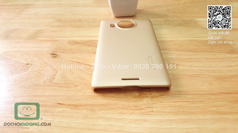 Ốp lưng Microsoft Lumia 950 XL Nillkin vân sần
