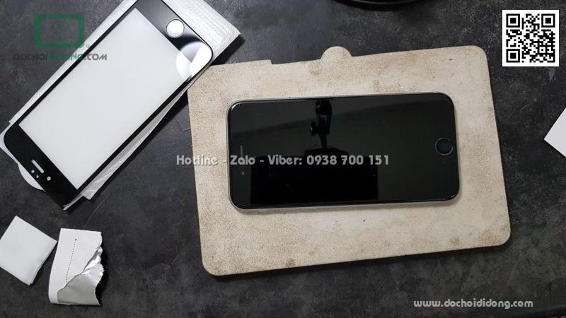 Miếng dán cường lực full màn hình iPhone 6 6S Zacase 3D Elite