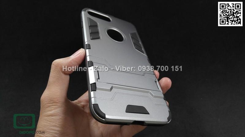Ốp lưng iPhone 8 Plus Iron Man chống sốc có chống lưng