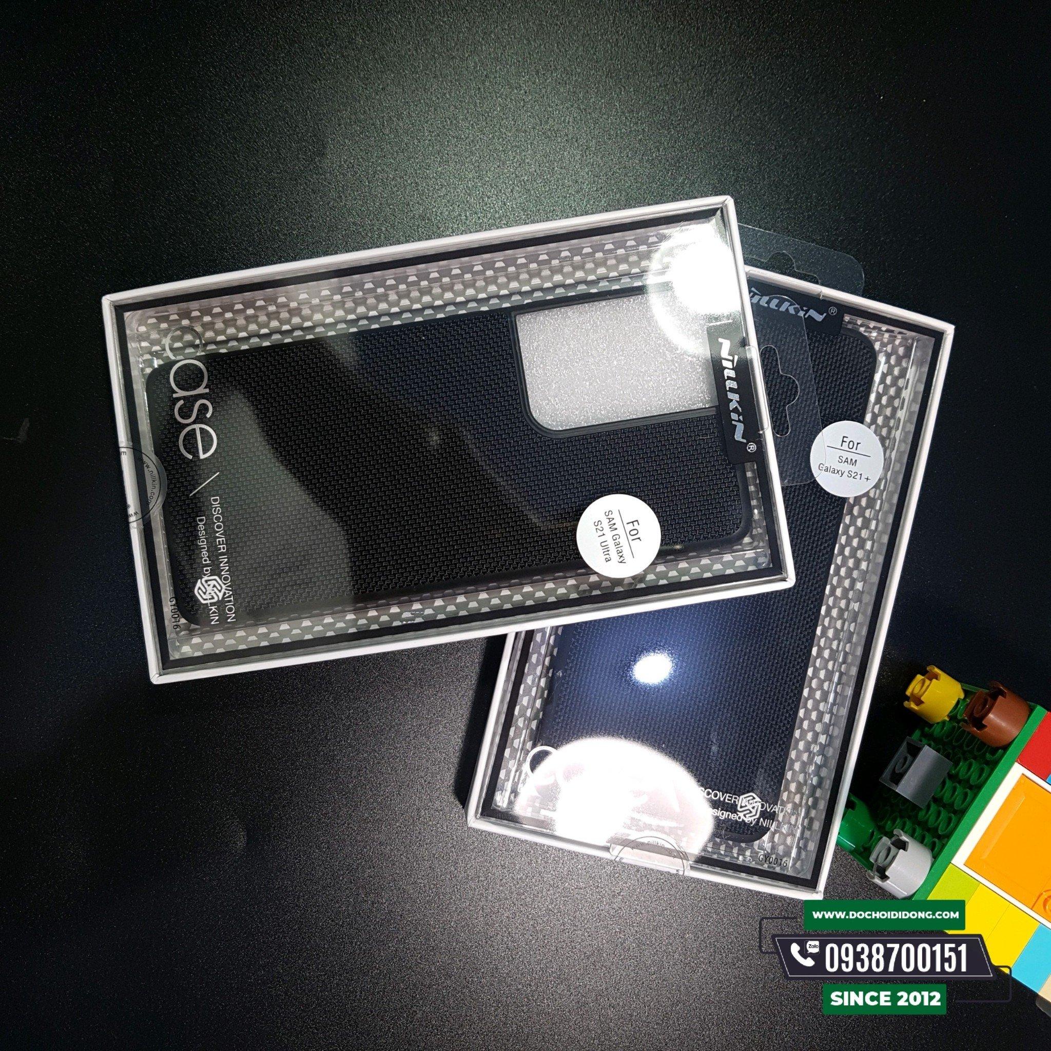 Ốp Lưng Nillkin Lưng Vải Bố Samsung S21- S21+ Plus- S21 Ultra