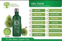 Dầu thơm Siberian Pure Herbs Collection Extra Rich Massage Balsam