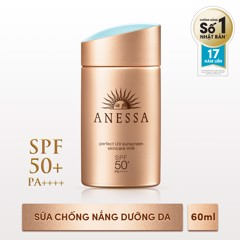 Kem chống nắng Anessa Perfect UV Sunscreen Skincare Milk SPF50+ PA++++