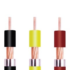 Low Voltage power cable, single core copper conductor (CV)