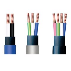 Low Voltage power cable, 2-4 core copper conductor (CVV)