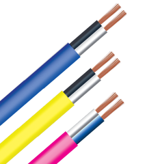 Flat Flexible cable two core copper conductor VCmo