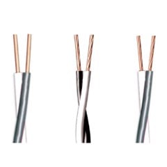 Low voltage Power cable two cores copper conductor DuCV