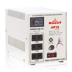 Relay voltage regulator 600VA