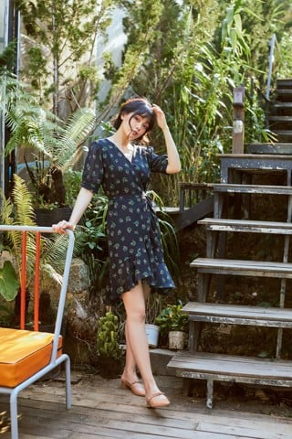 Đầm Dress Me Blue