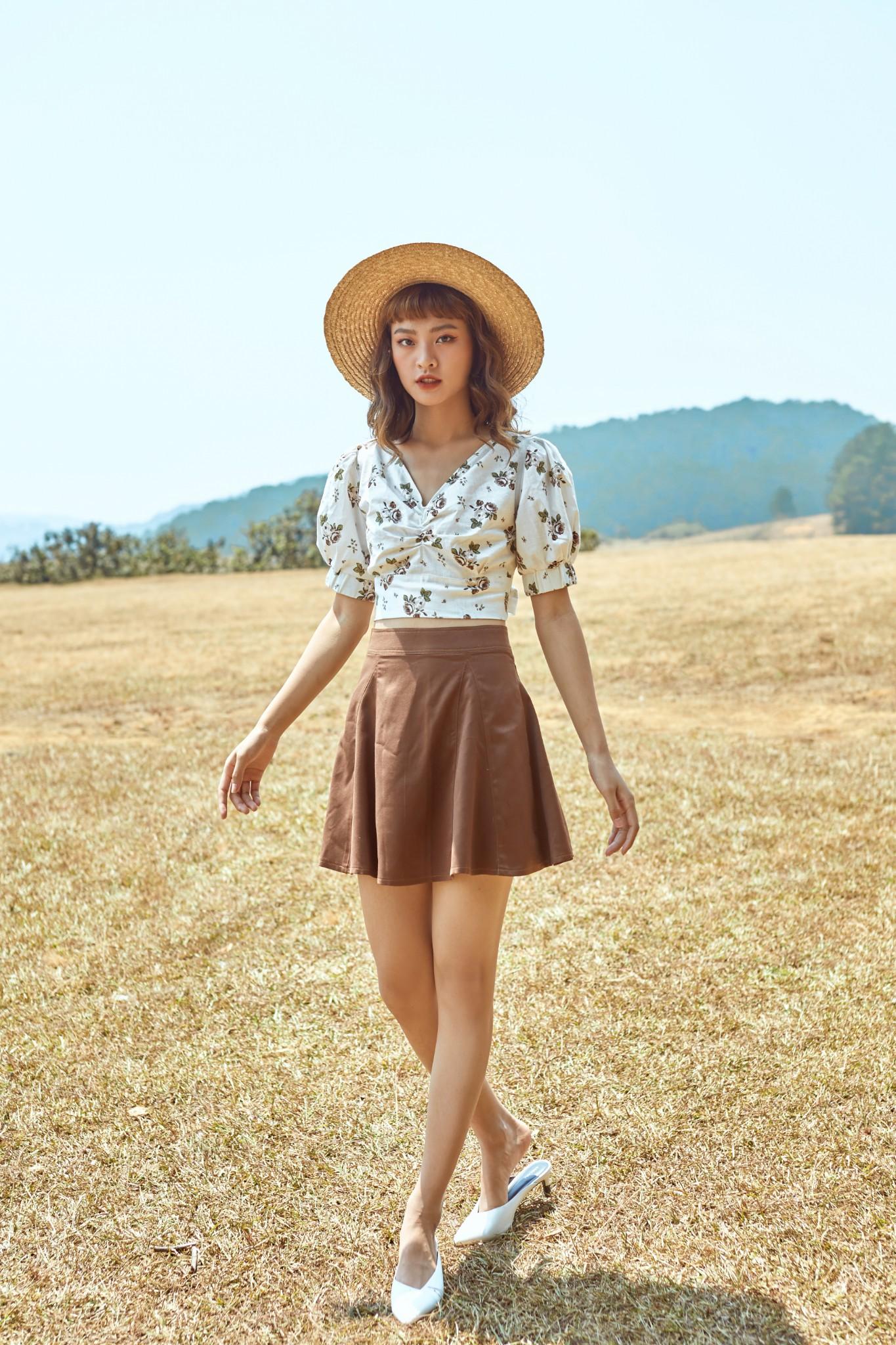 Chân váy nâu - Sienna Skirt