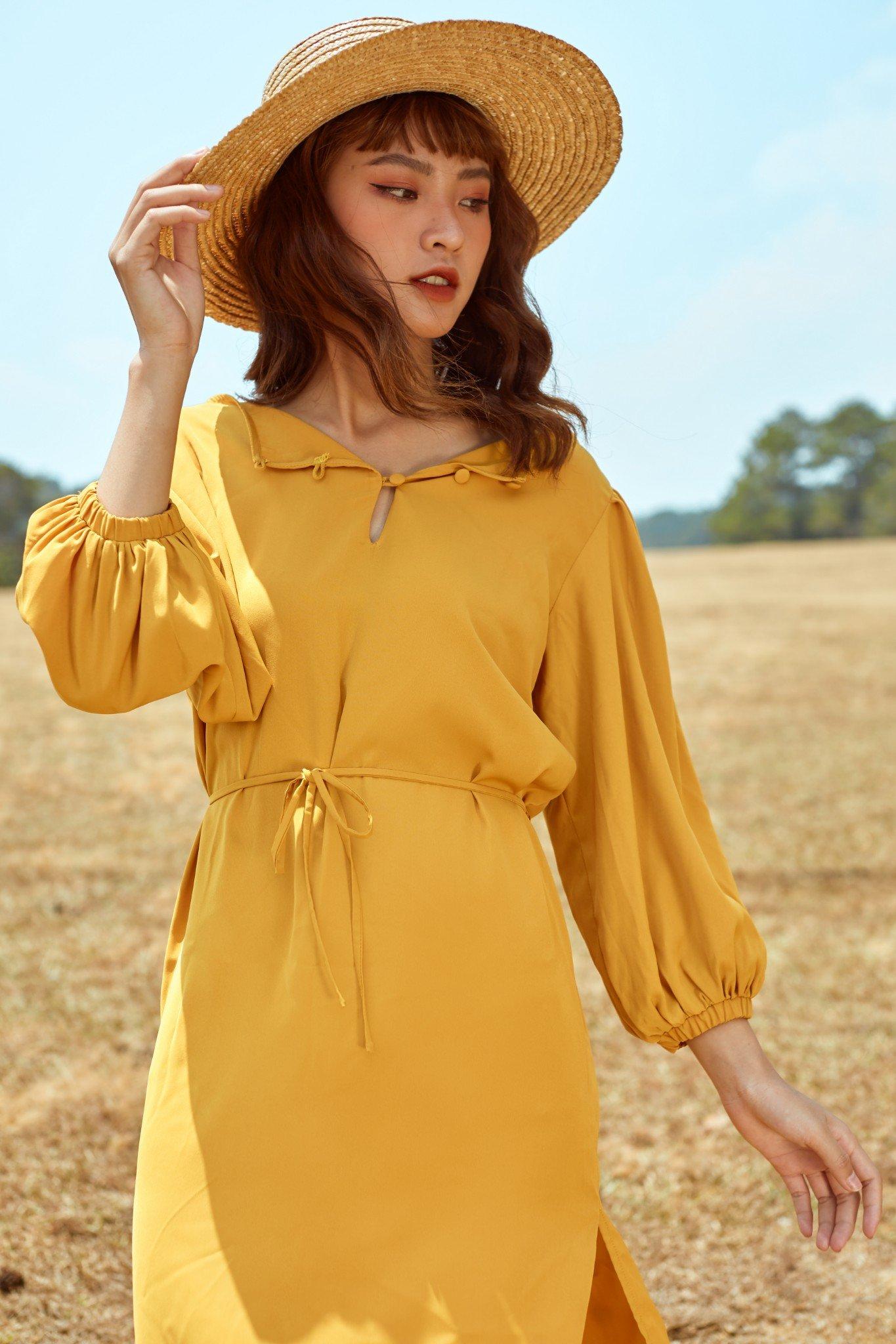 Đầm vàng - Ambery Dress