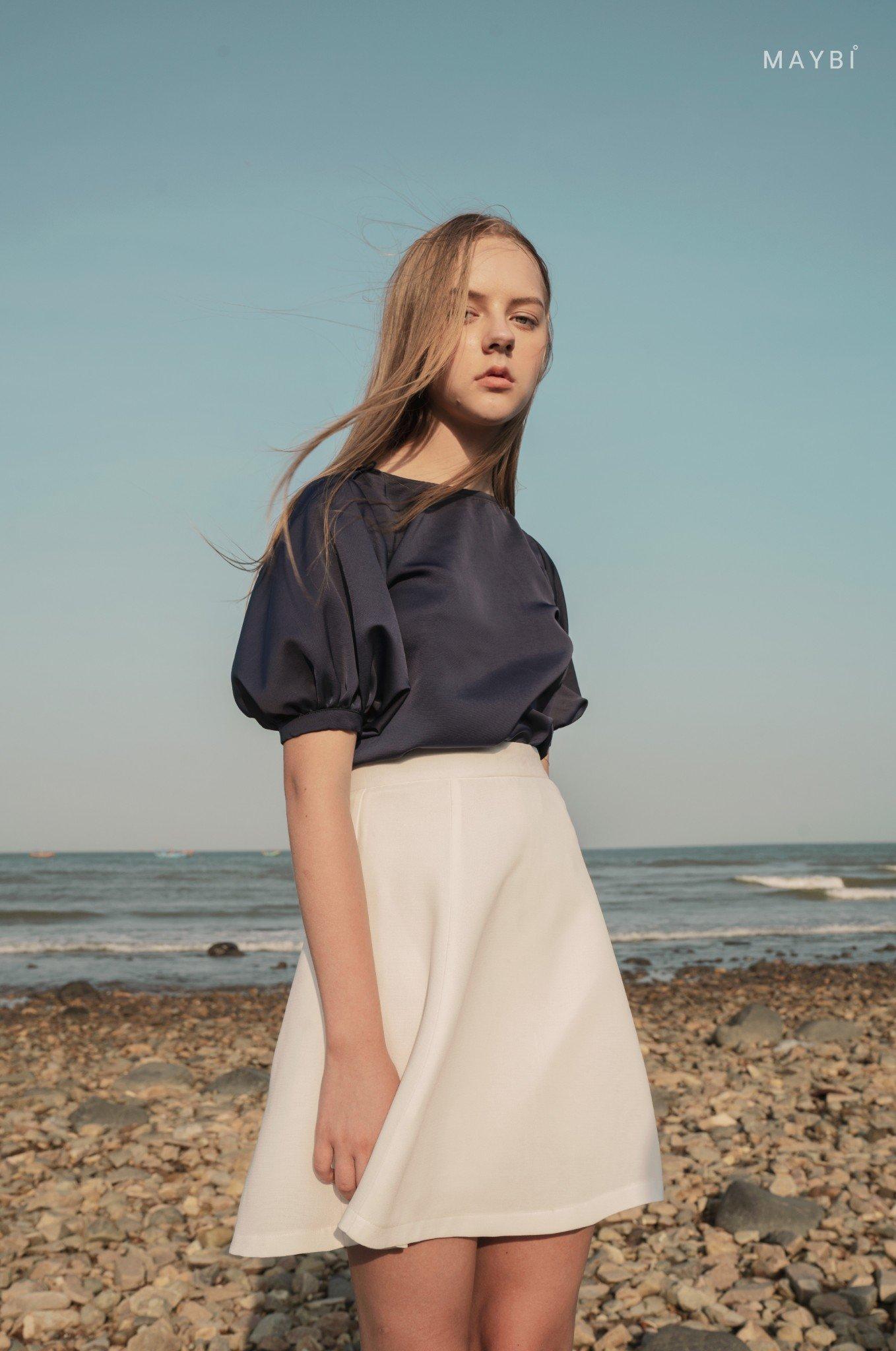 Chân váy trắng tùng xòe - Snowtie skirt