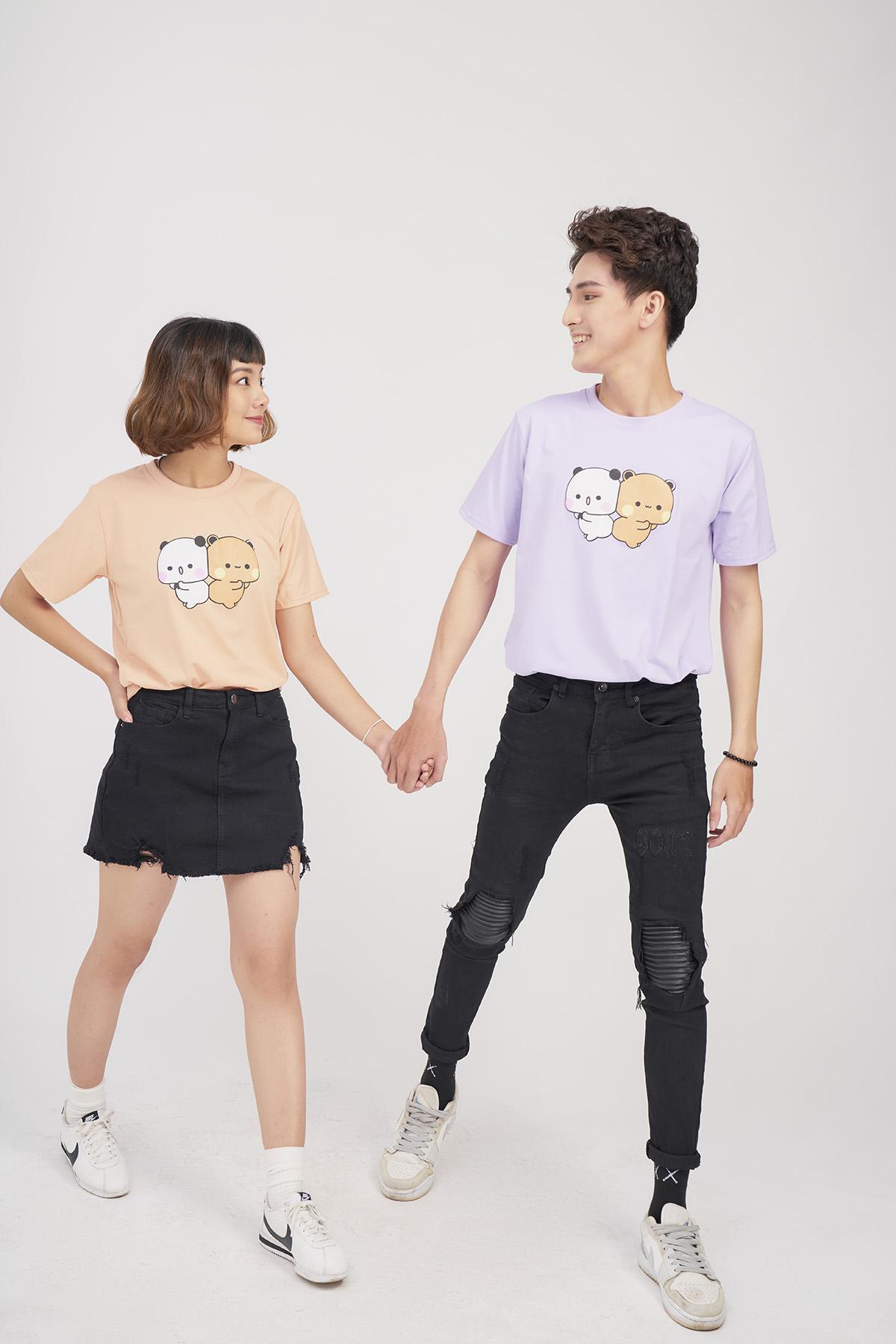 Say Happy Tshirt - Áo thun be form medium in hình