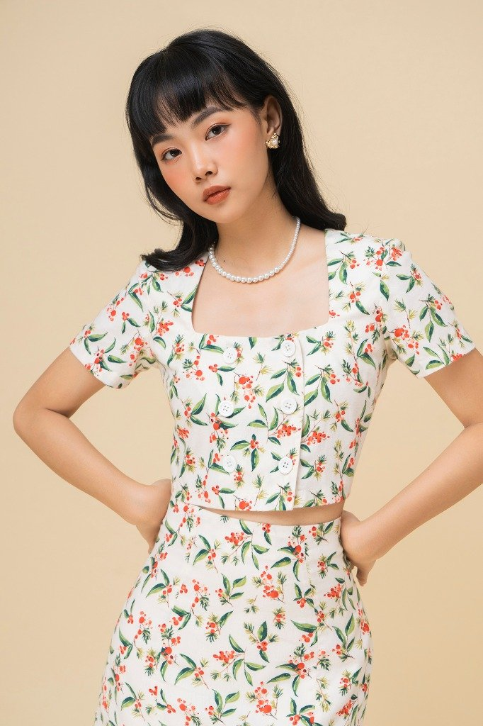 Bộ Ly Chu Set Red current