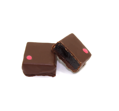 Raspberry Oolong Tea Ganache