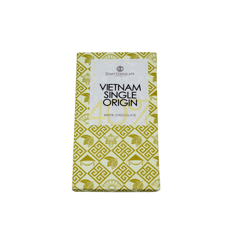 THANH SOCOLA VIỆT NAM SINGLE ORIGIN 40% - WHITE CHOCOLATE