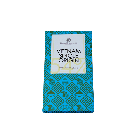 THANH SOCOLA VIỆT NAM SINGLE ORIGIN 54% - DARK CHOCOLATE