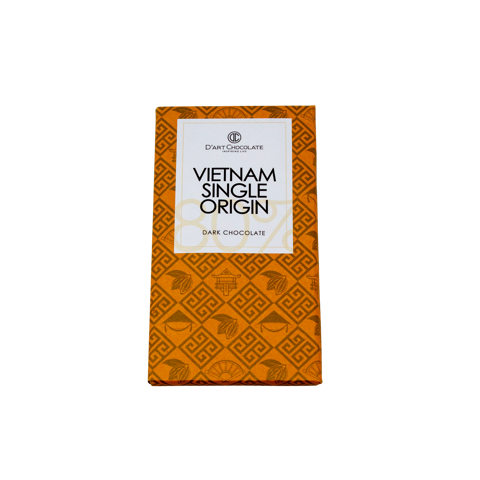 THANH SOCOLA VIỆT NAM SINGLE ORIGIN 80% - DARK CHOCOLATE