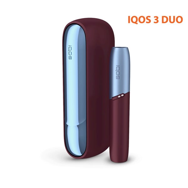IQOS 3 DUO  Frosted Red