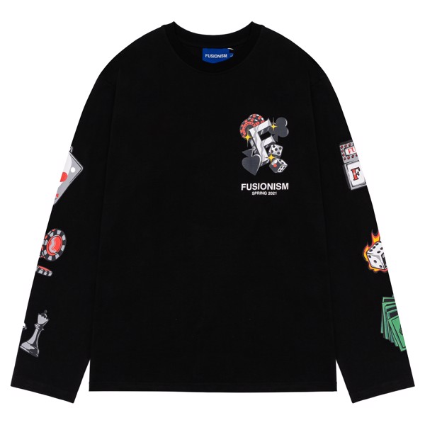 Long Sleeve Black Jack | Đen
