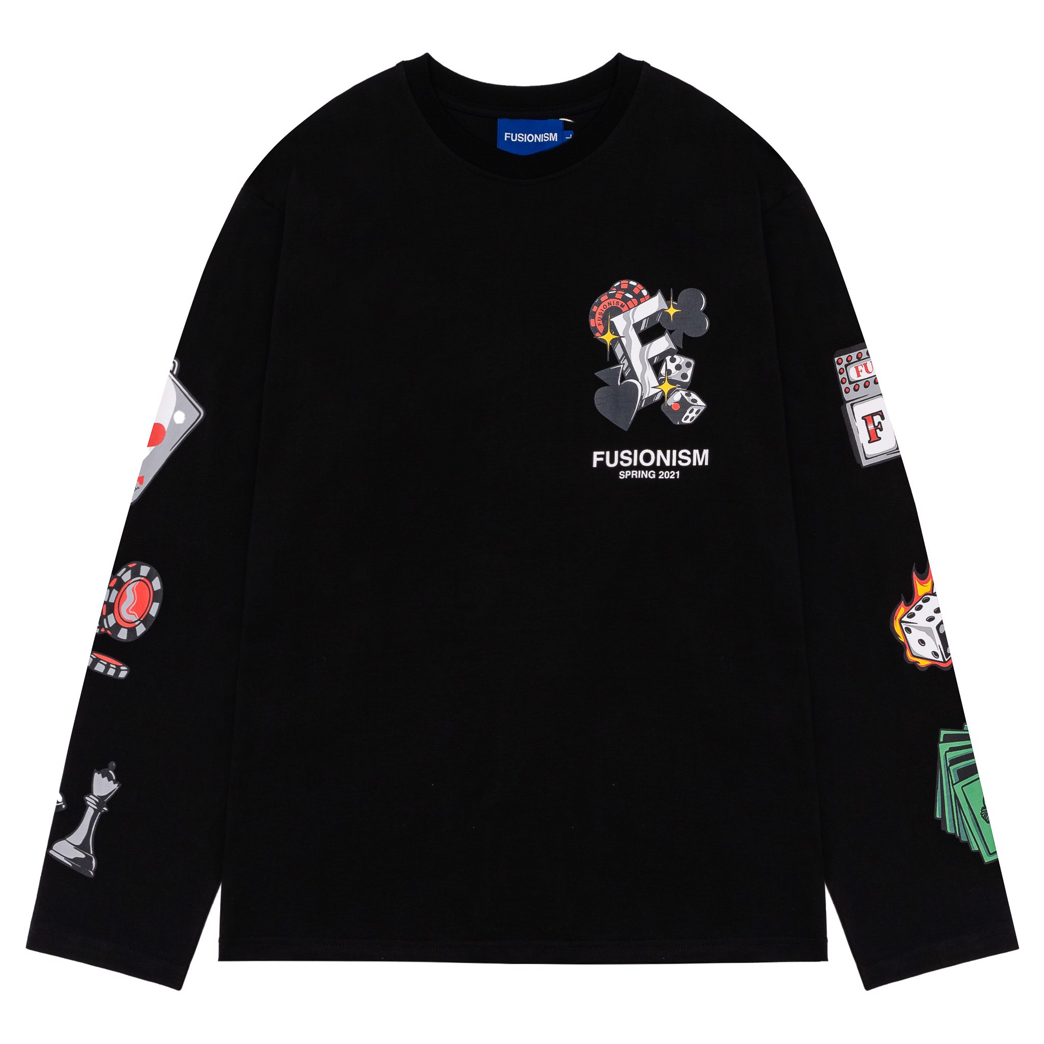 Long Sleeve Black Jack