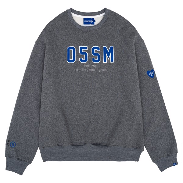Sweater 05SM | Xám