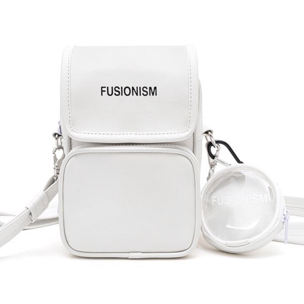 Leather Bag Fusionism | Trắng