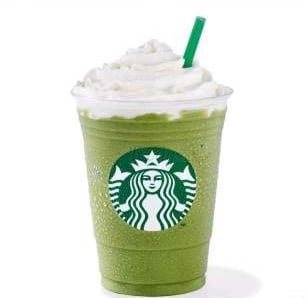 Green Tea Prappucino / Venti