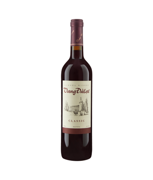 DaLat Classic Red Wine 750ml